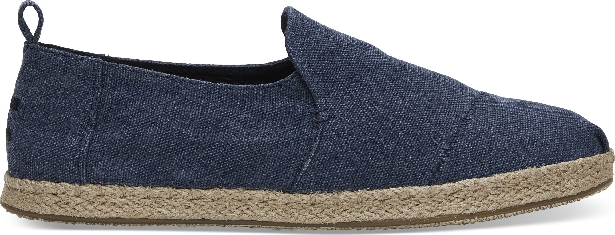 TOMS Washed Men's Deconstructed Alpargata Navy 43,5