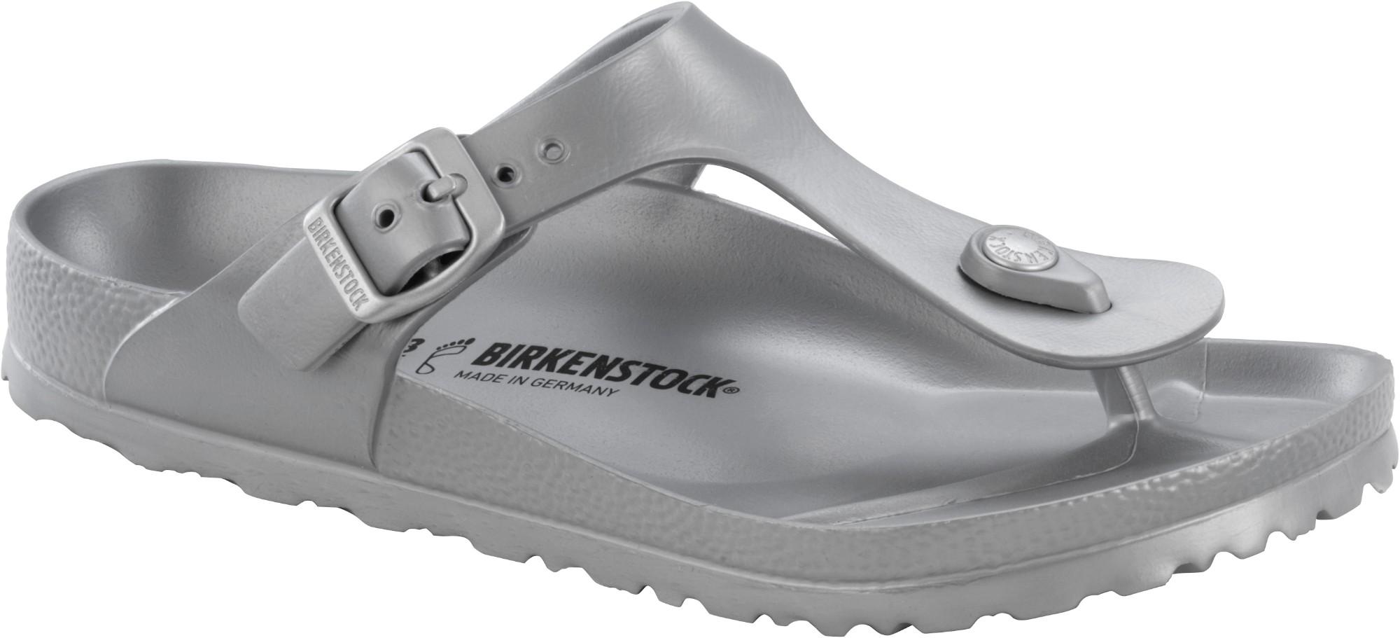 Birkenstock Gizeh EVA Metallic Silver 39