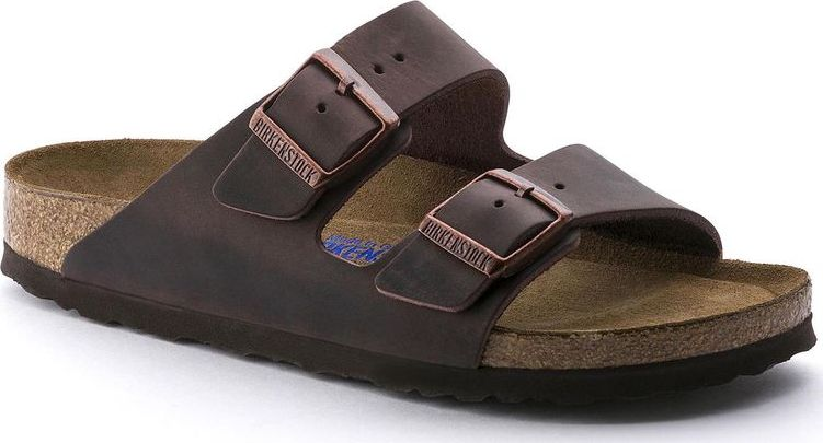 Birkenstock Arizona SFB Oiled Leather Habana 46