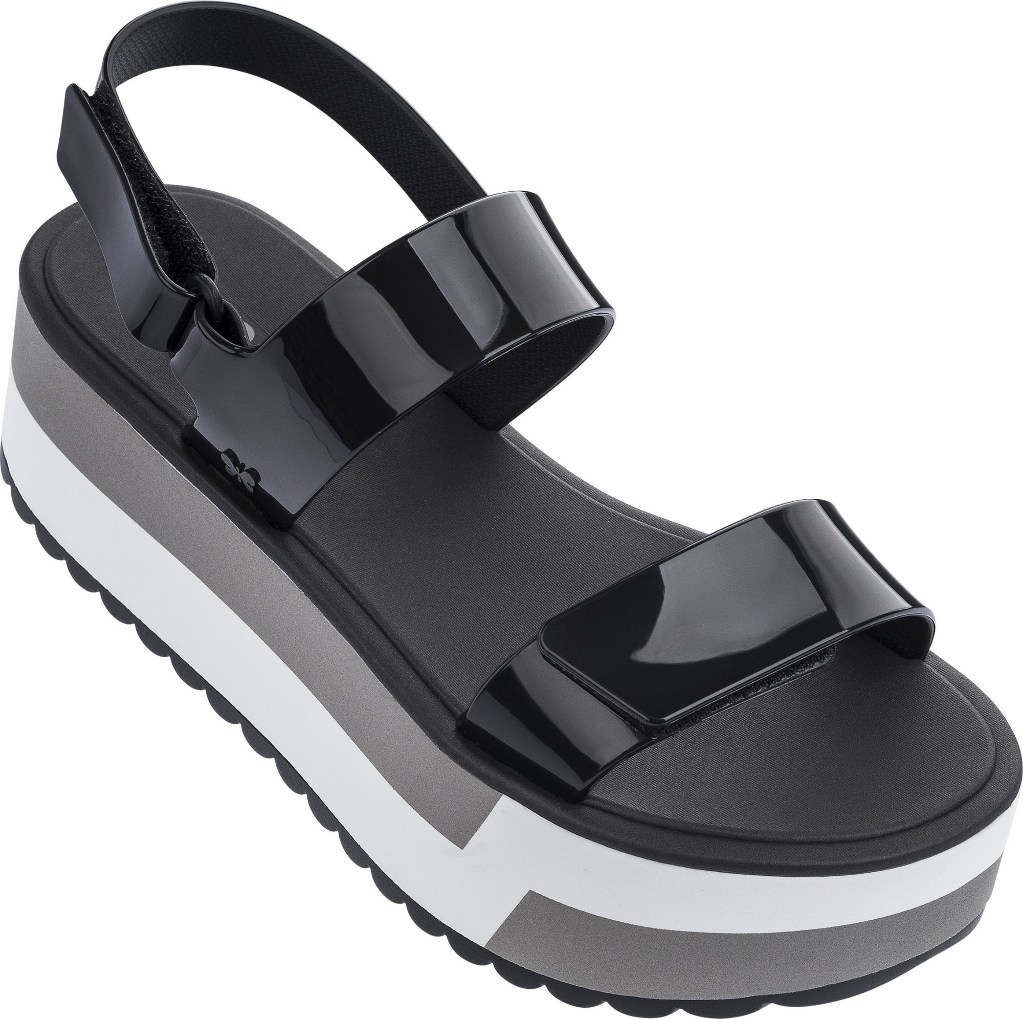 ZAXY Slash Plat Sandal Black 37