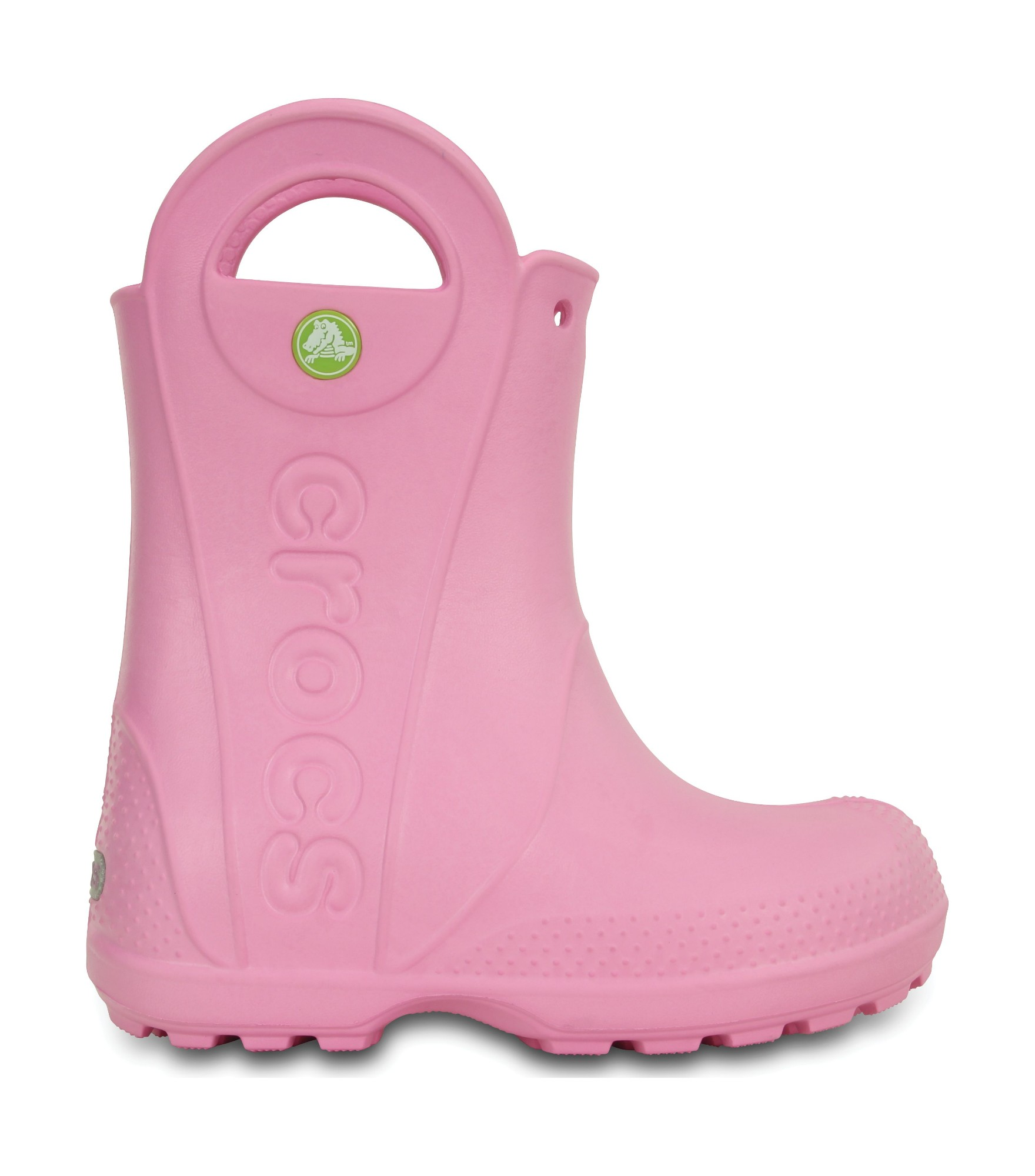 Crocs™ Kids' Handle It Rain Boot Carnation 27