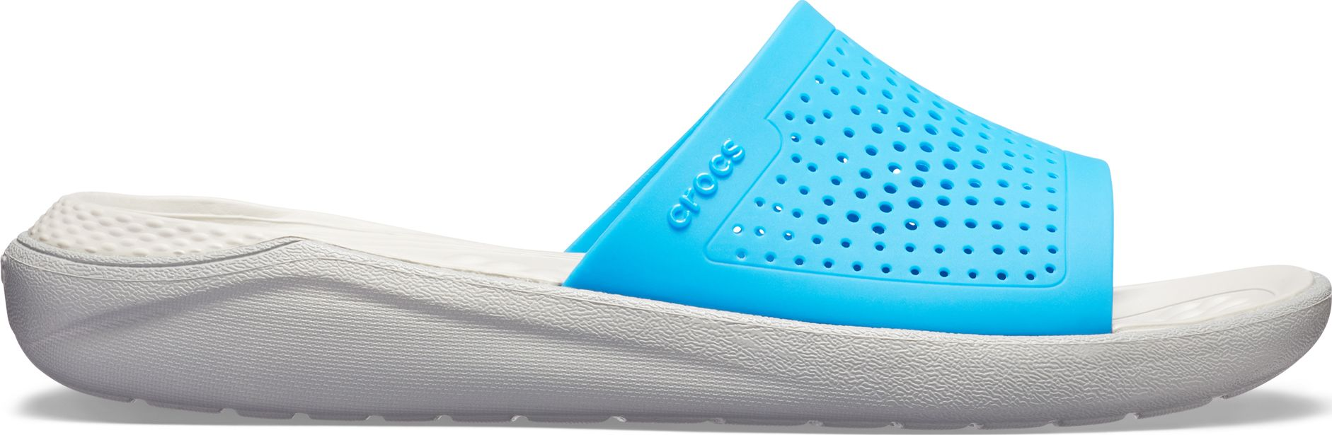 Crocs™ LiteRide Slide Ocean/Light Grey 44,5