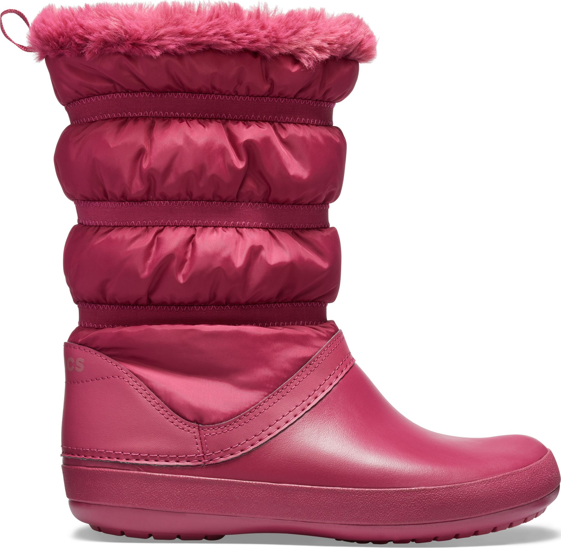 Crocs™ Women's Crocband Winter Boot Pomegranate 37,5