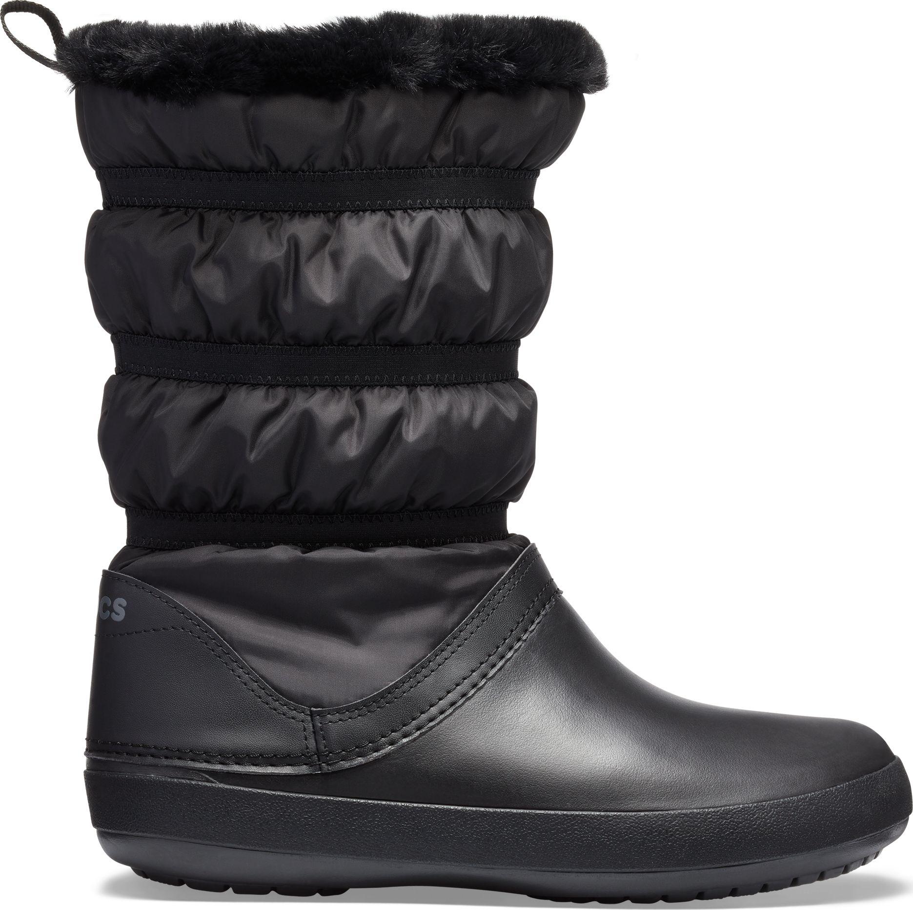 Crocs™ Women's Crocband Winter Boot Black/Black 41