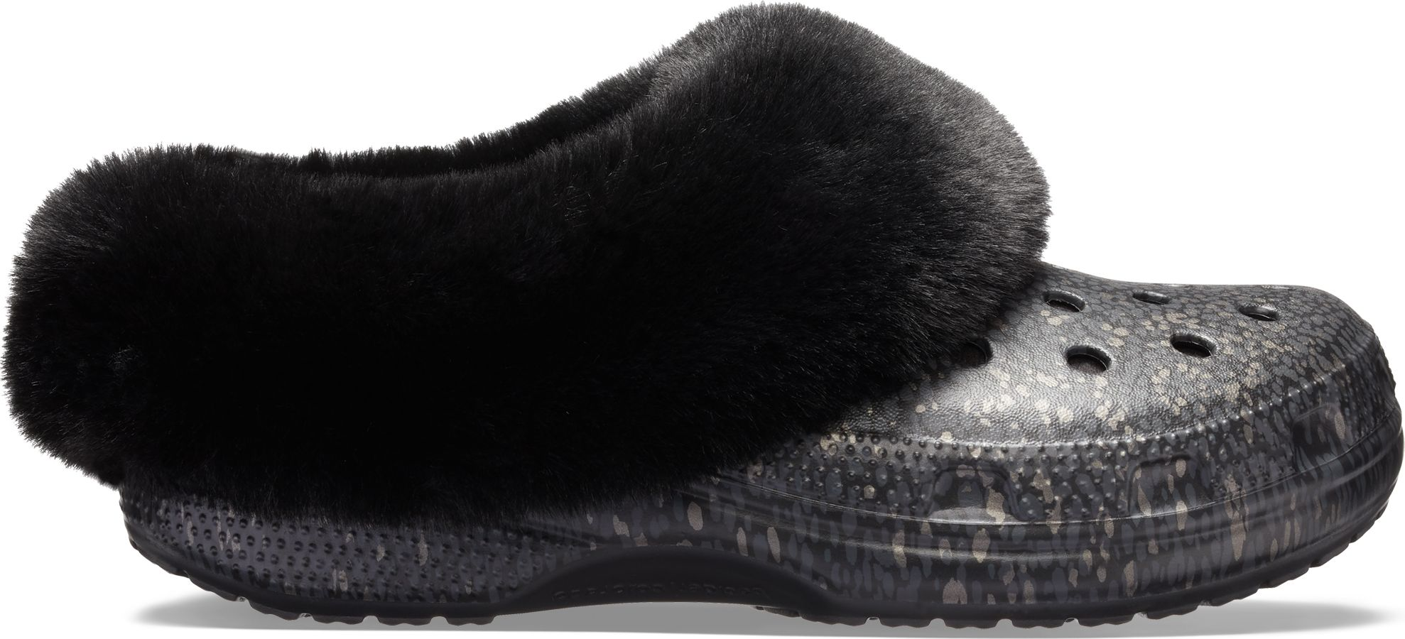 Crocs™ Classic Mammoth Luxe Radiant Clog Black 36,5
