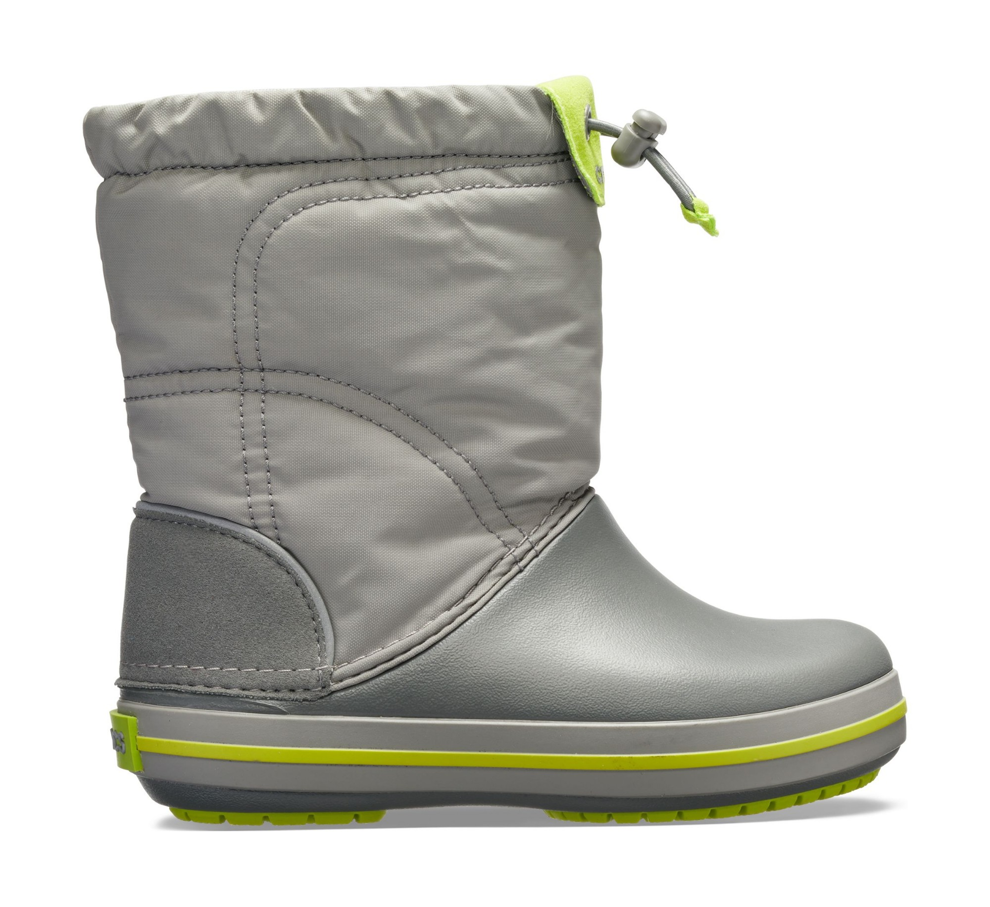 Crocs™ Kids' Crocband Lodgepoint Boot Smoke/Graphite 37,5