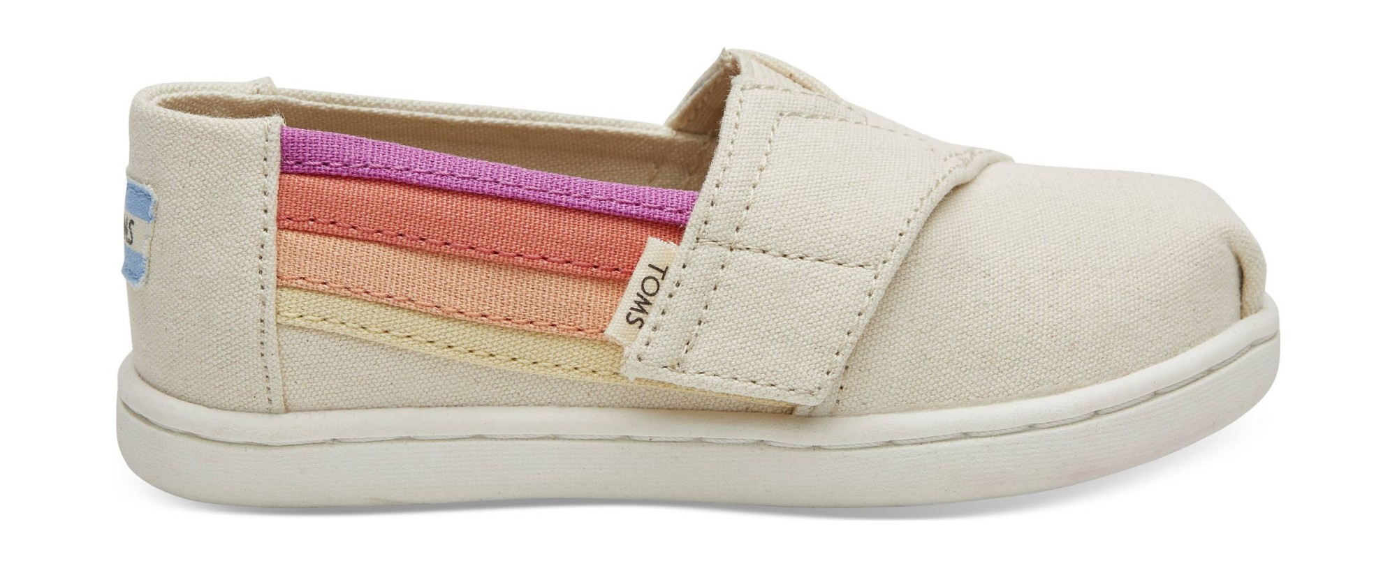 TOMS Horizon Canvas Kid's Alpargata Birch 27