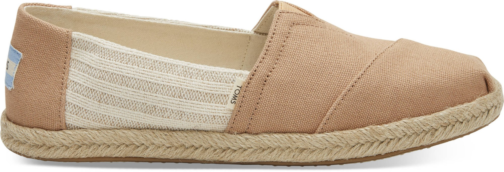 TOMS Canvas Ivy League on Rope Women's Alpargata Honey 37