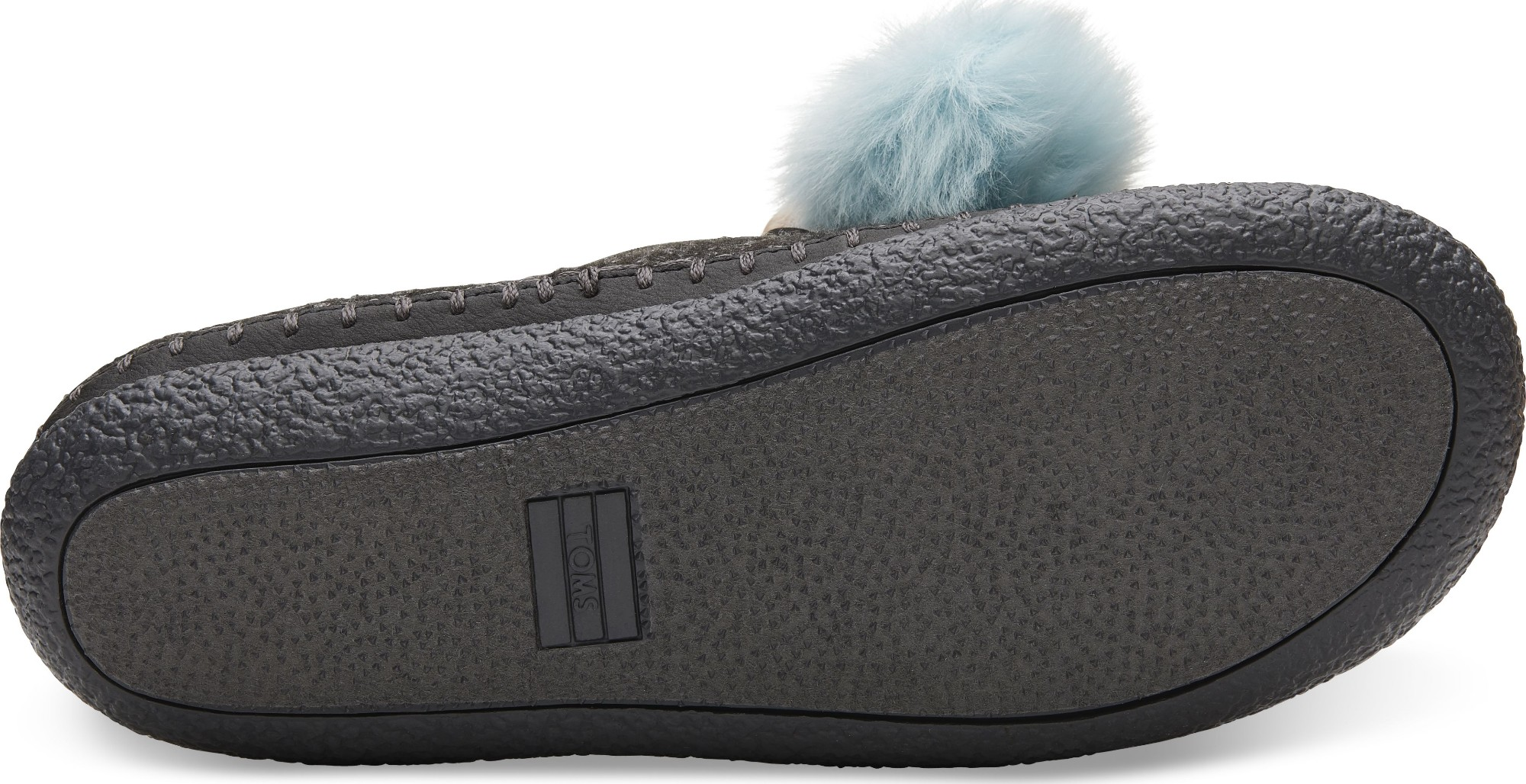 e54943674df Previous. TOMS Felt Pom Pom Women s Ivy Slipper Black ...