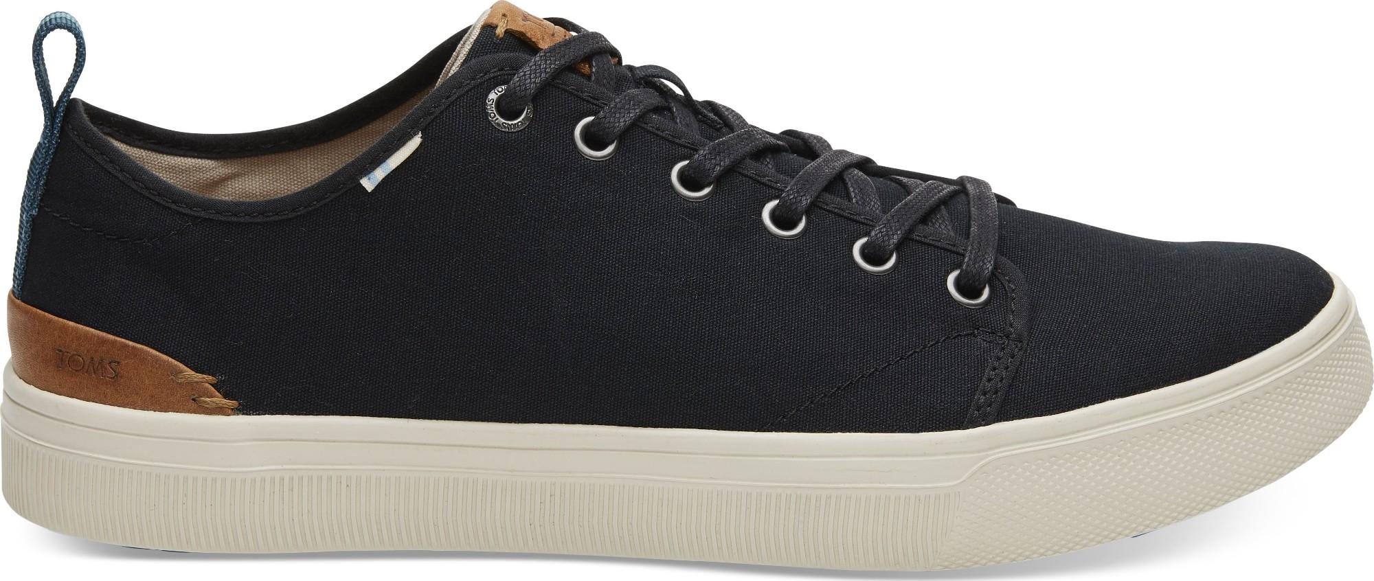 TOMS Canvas Men's Trvl Lite Low Sneaker Black 41