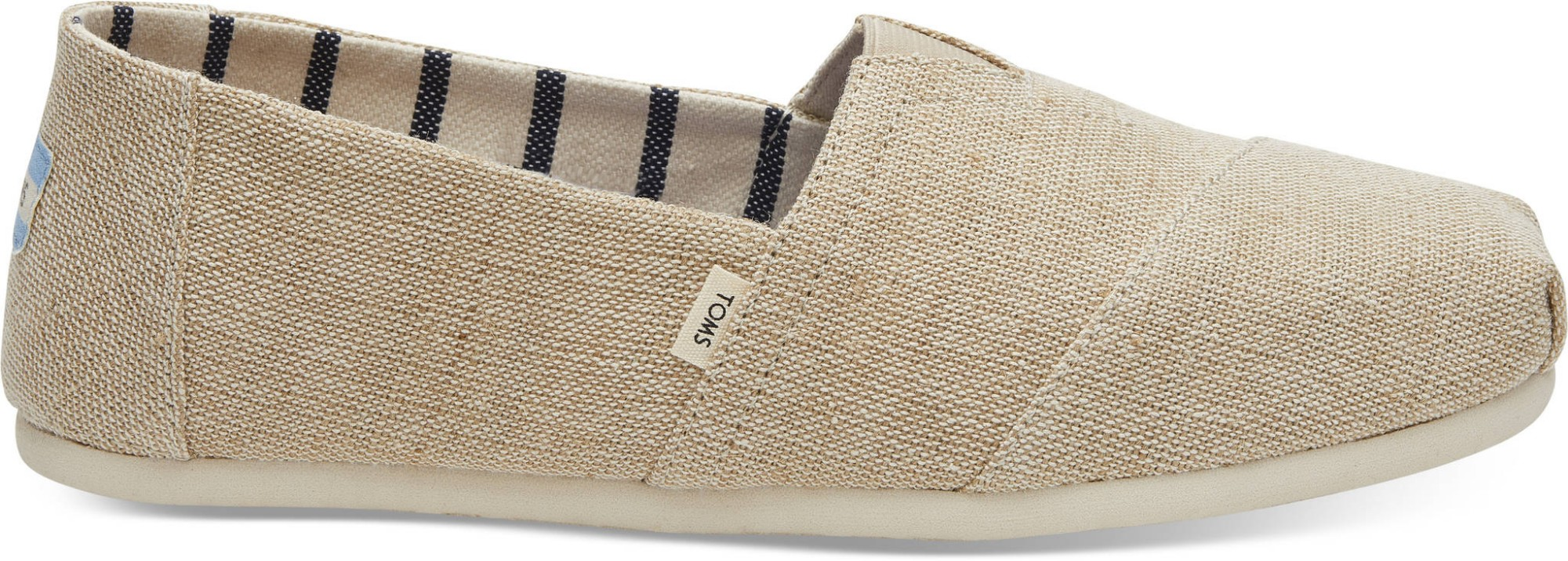TOMS Heritage Canvas Men's Alpargata Unbleached 42