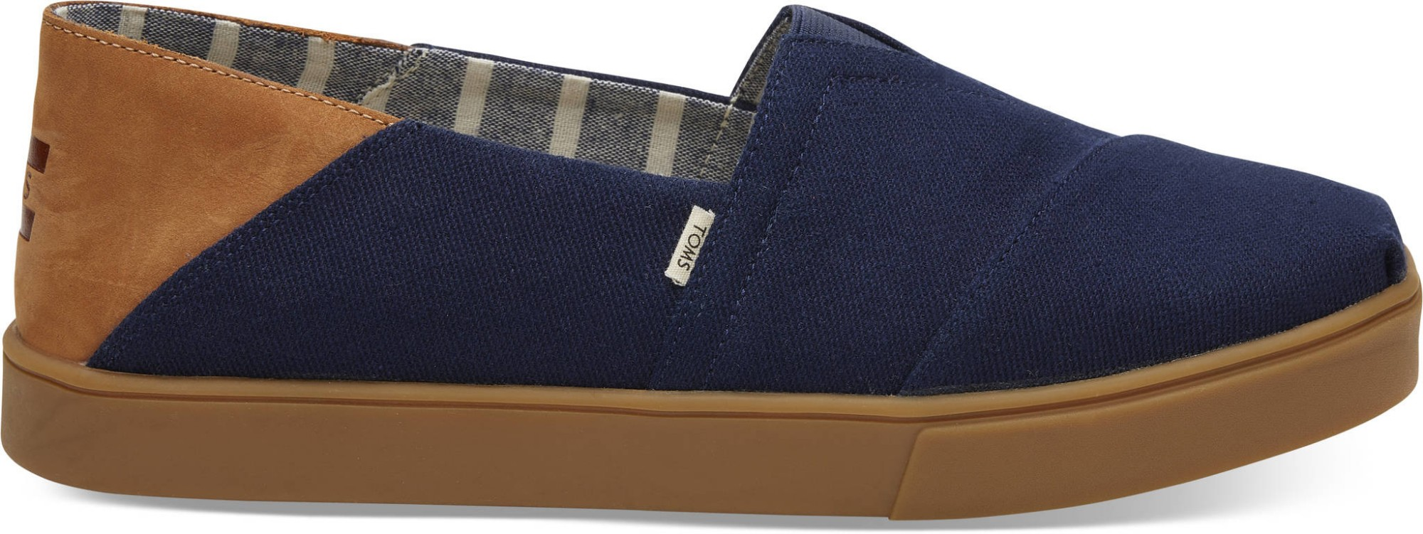 TOMS Canvas Convertible Men's Alpargata Cupsole Navy 43
