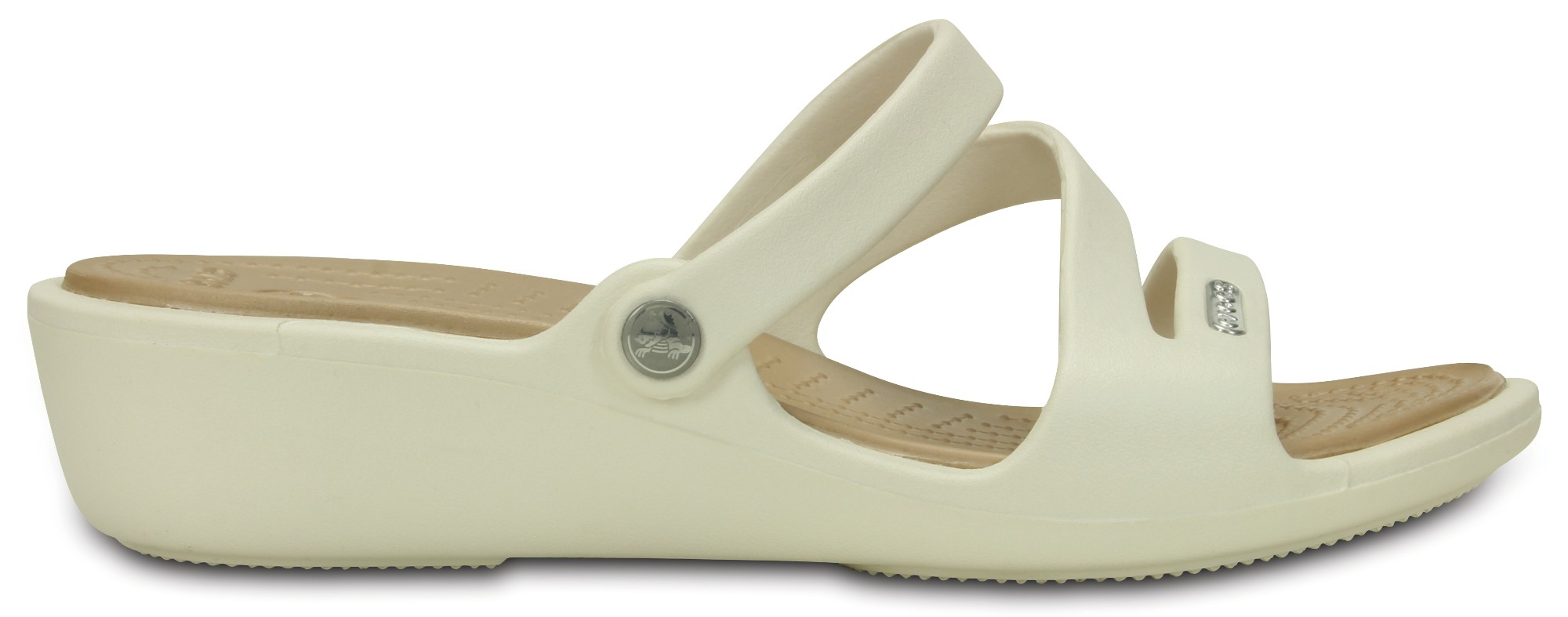 Crocs™ Patricia Oyster/Gold 41