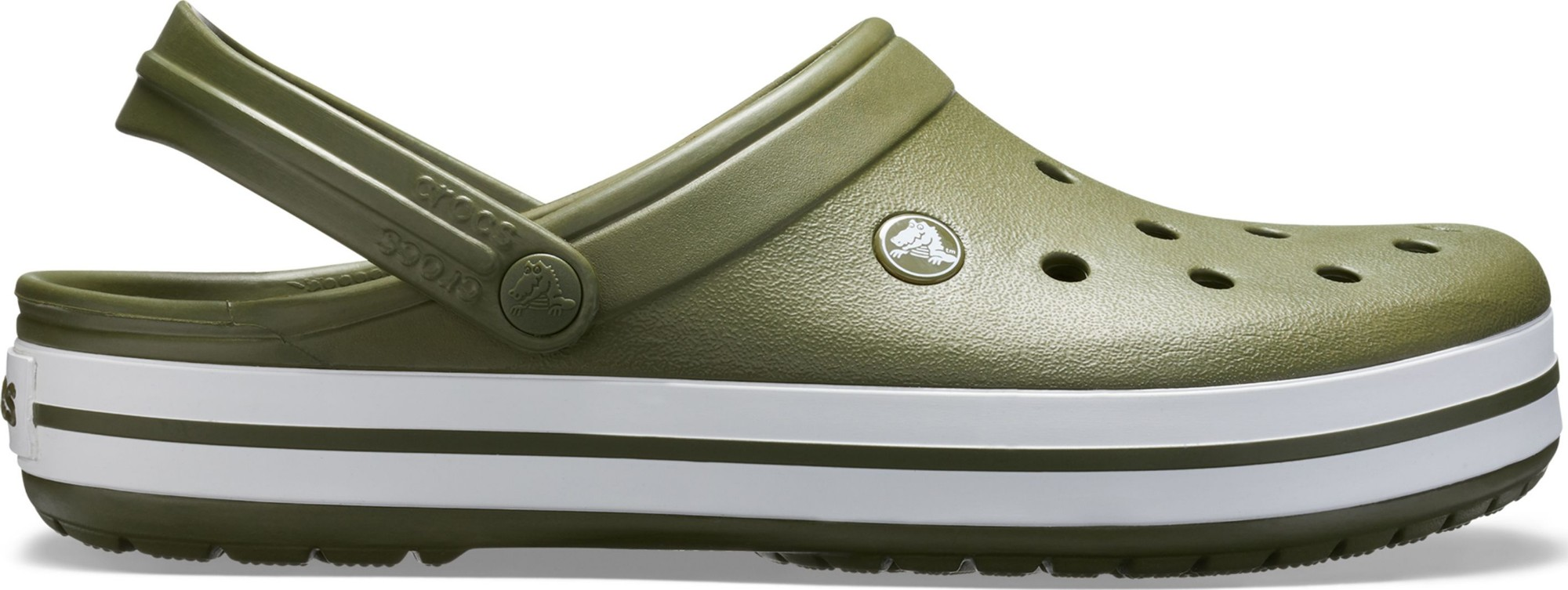 Crocs™ Crocband™ Army Green/White 43,5