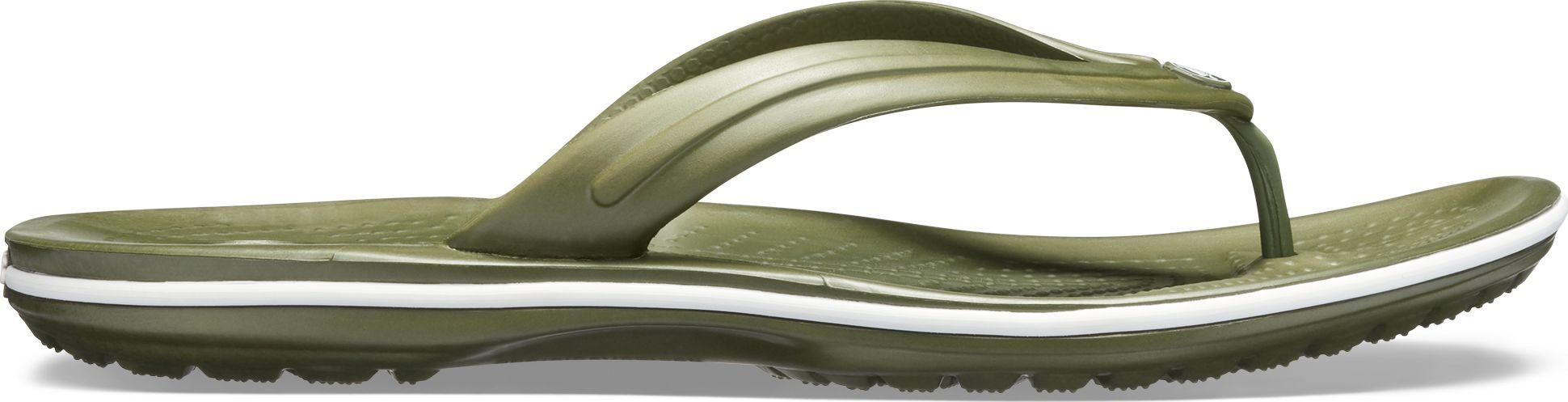 Crocs™ Crocband™ Flip Army Green/White 47,5