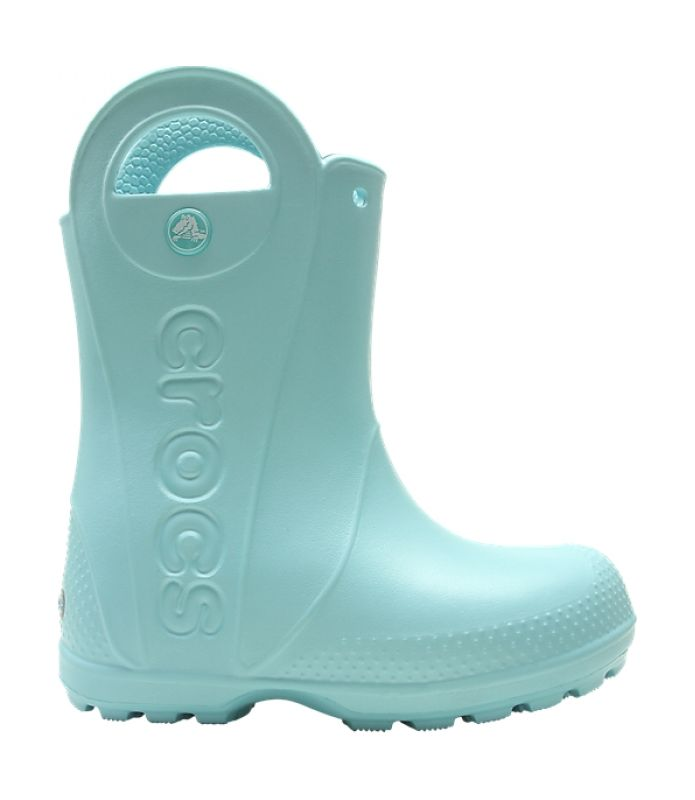 Crocs™ Kids' Handle It Rain Boot Ice Blue 23