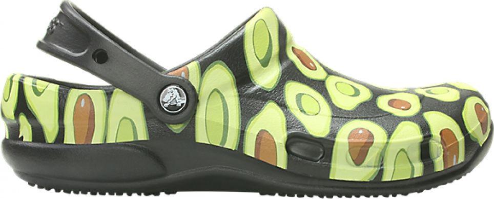 Crocs™ Bistro Graphic Clog Black/Volt Green 42,5
