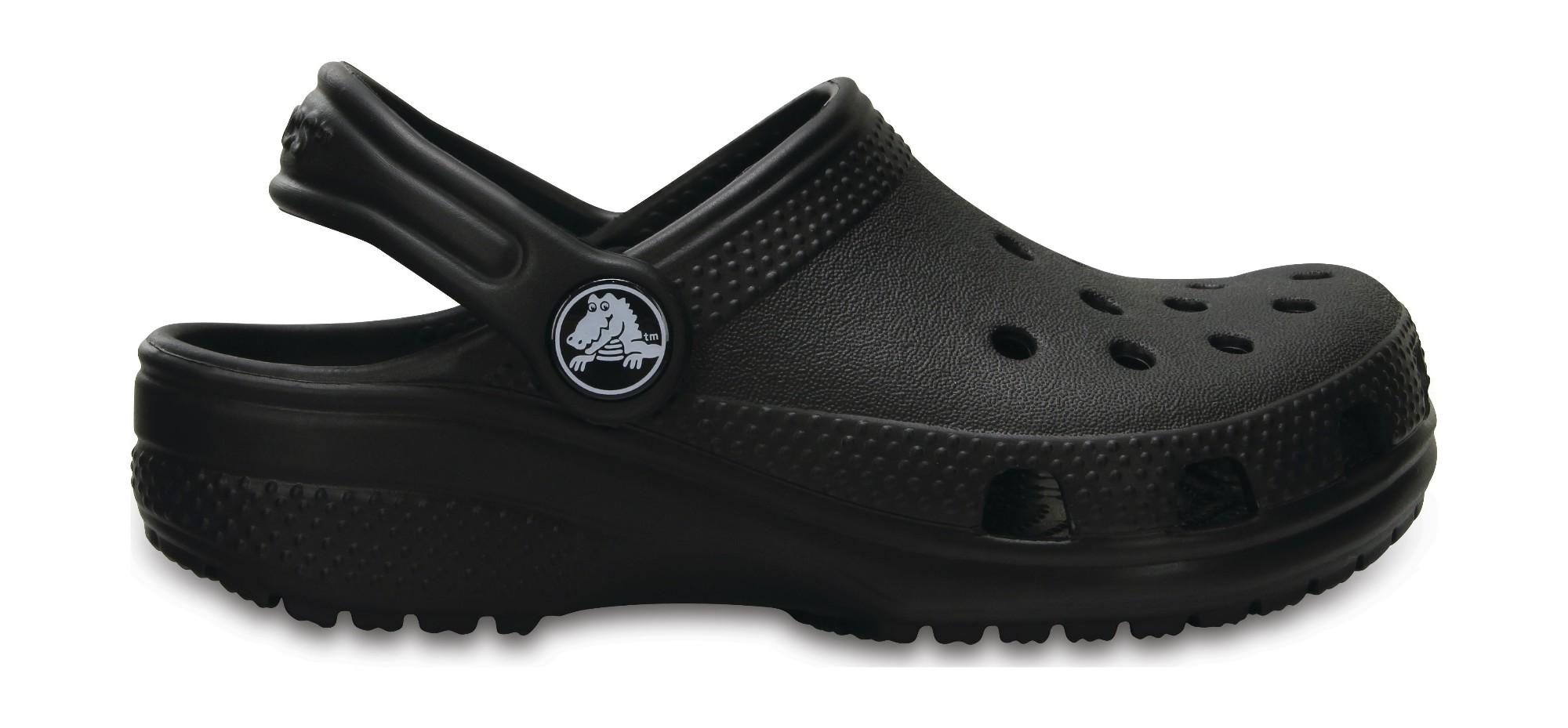 Crocs™ Kids' Classic Clog Black 26