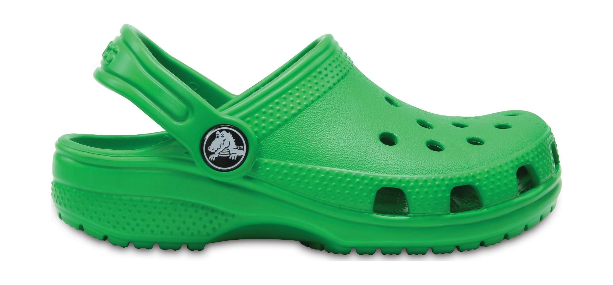 Crocs™ Kids' Classic Clog Grass Green 24
