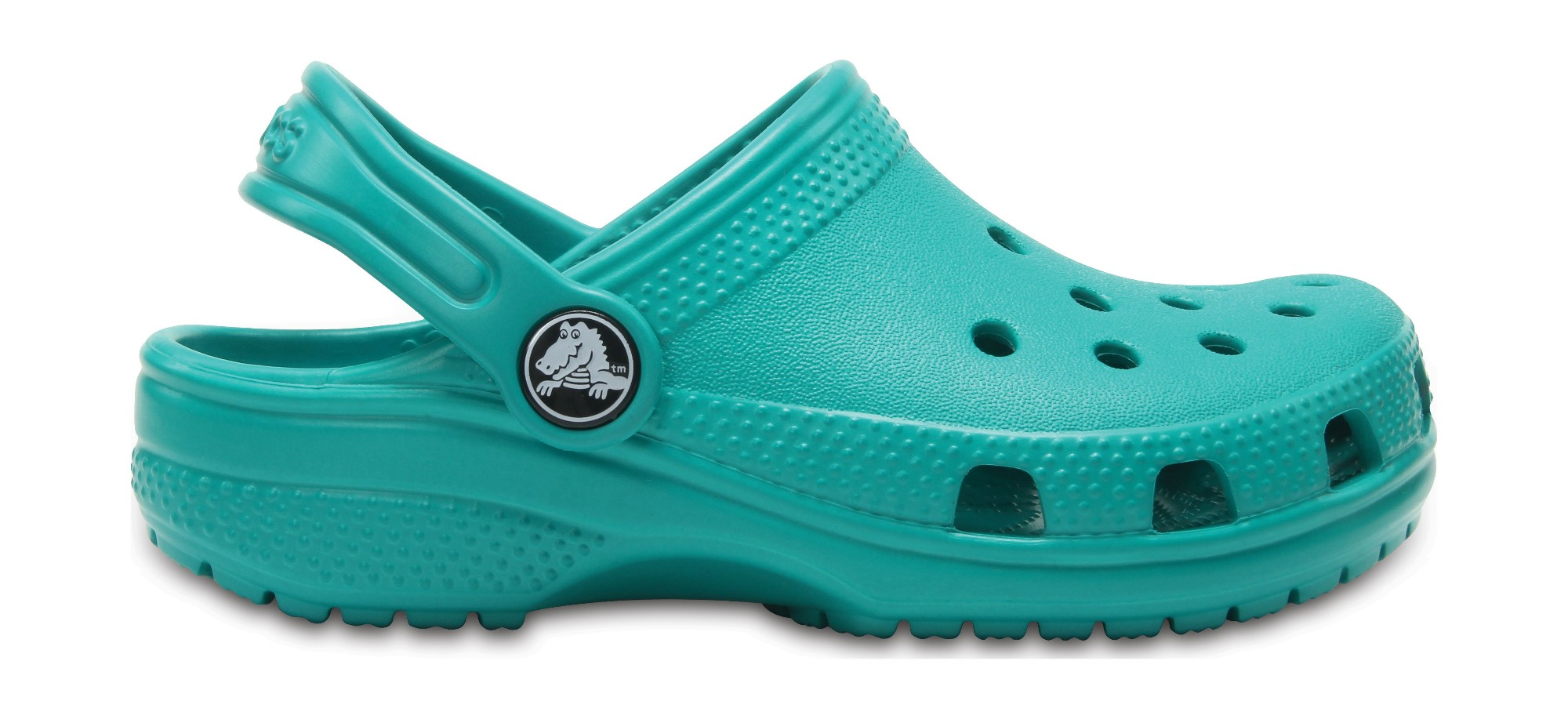 Crocs™ Kids' Classic Clog Tropical Teal 27
