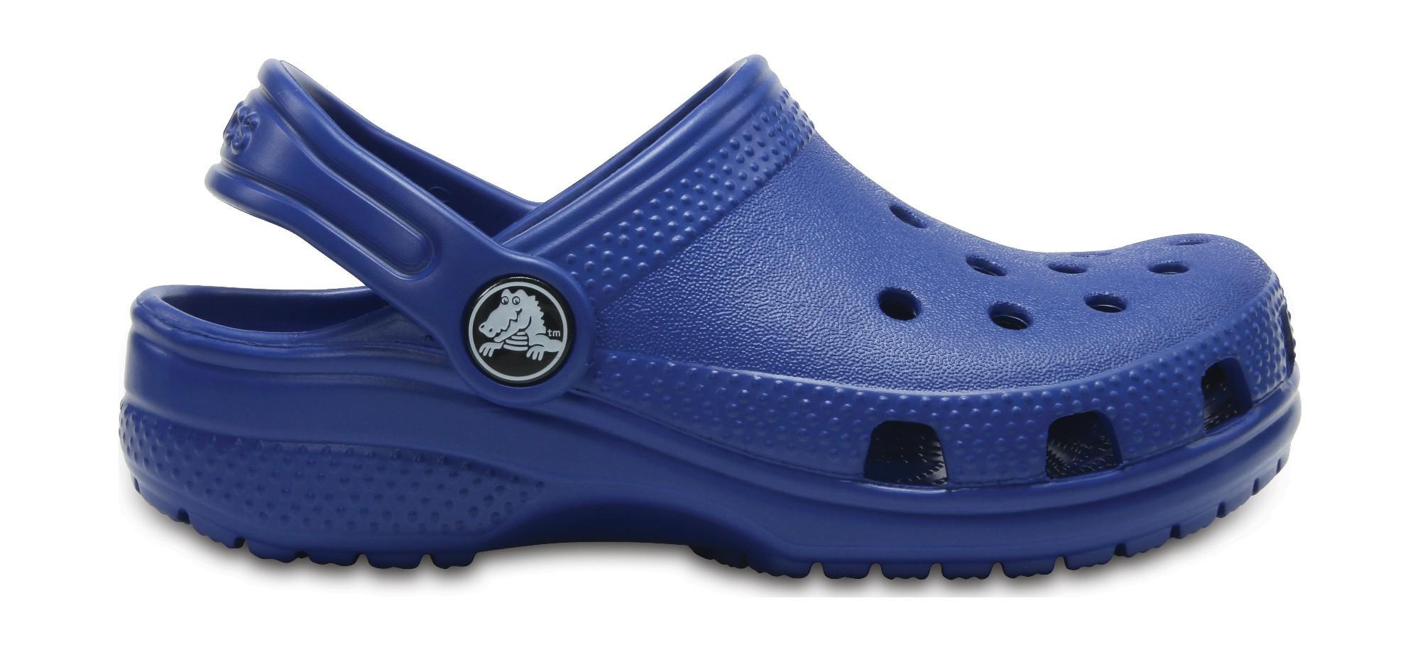Crocs™ Kids' Classic Clog Blue Jean 29