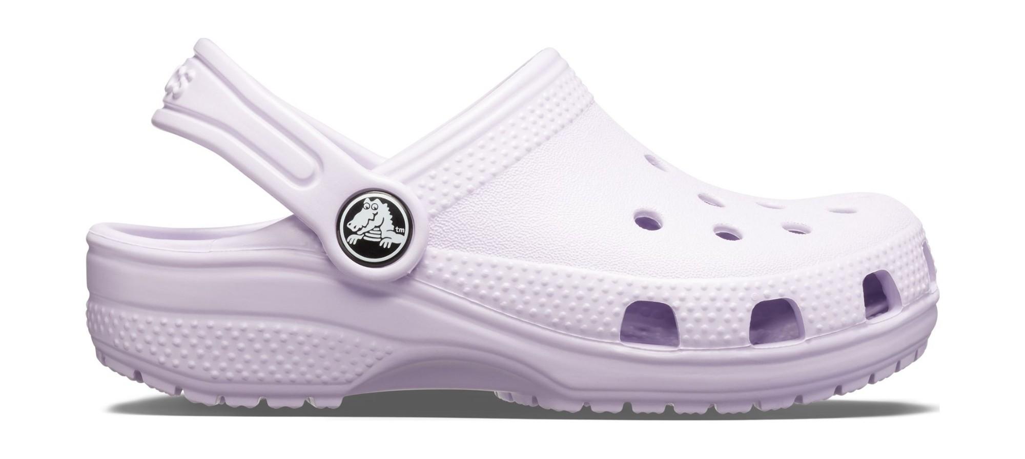 Crocs™ Kids' Classic Clog Lavender 24