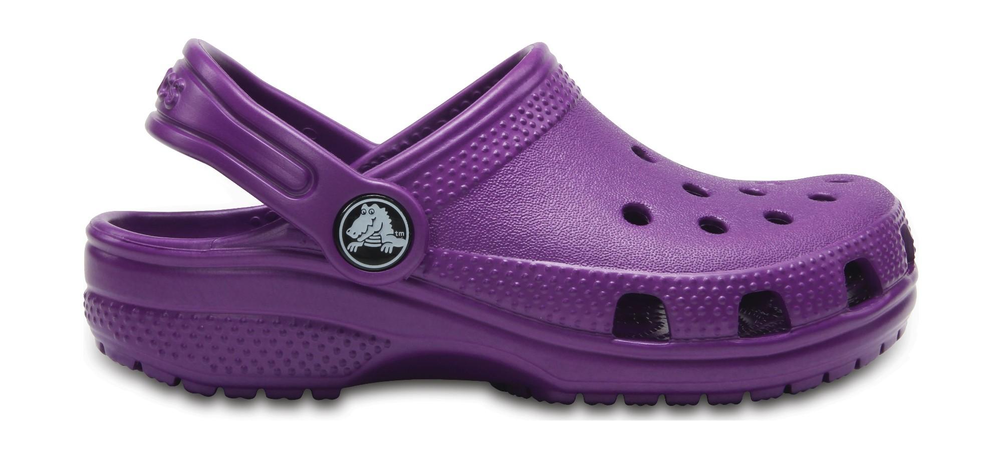 Crocs™ Kids' Classic Clog Amethyst 28
