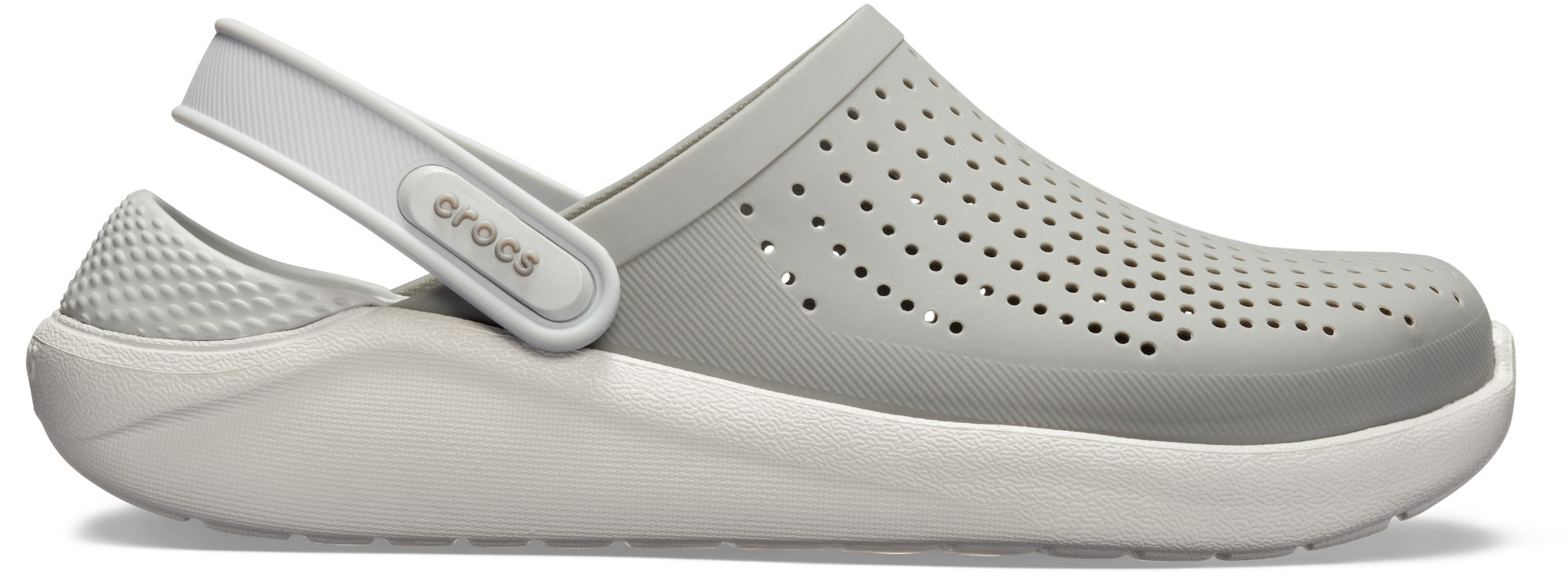Crocs™ LiteRide Clog Smoke/Pearl White 39,5