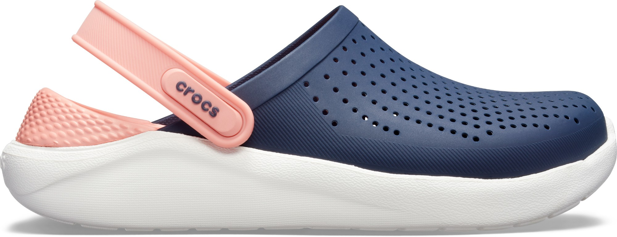 Crocs™ LiteRide Clog Navy/Melon 36,5