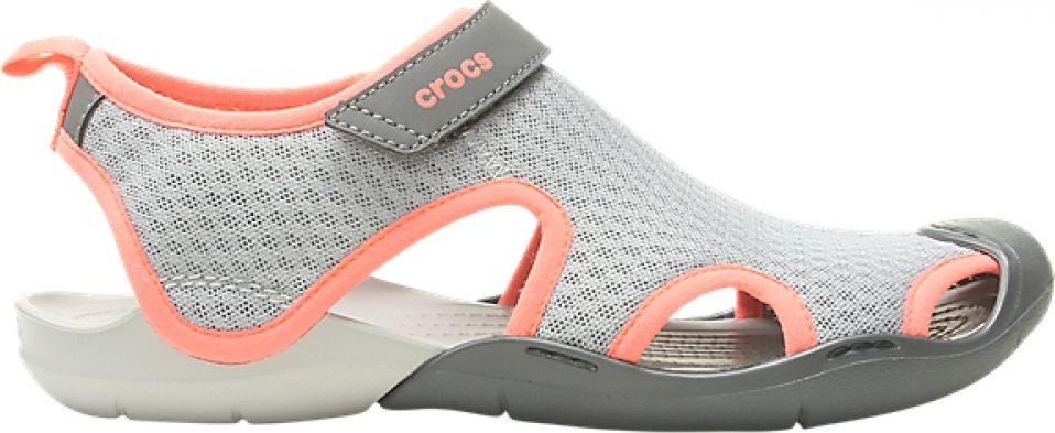 Crocs™ Swiftwater Mesh Sandal Light Grey/Pearl White 41