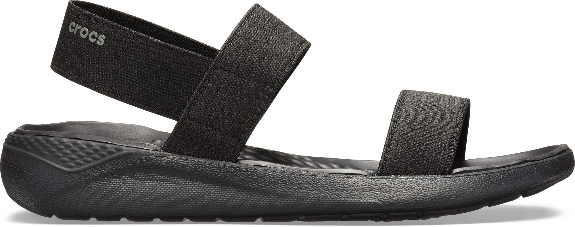 Crocs™ Women's LiteRide Sandal Black/Black 35