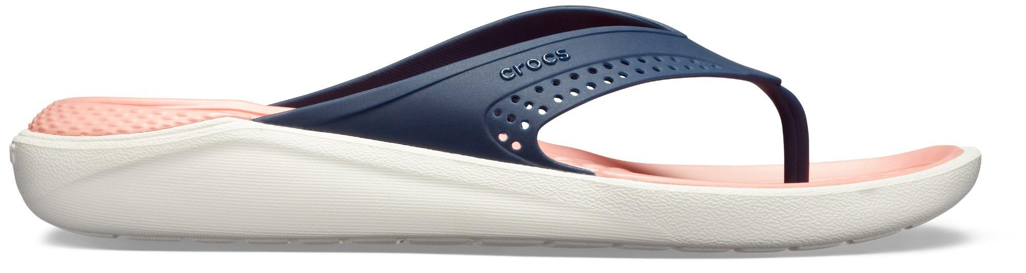 Crocs™ LiteRide Flip Navy/Melon 36,5