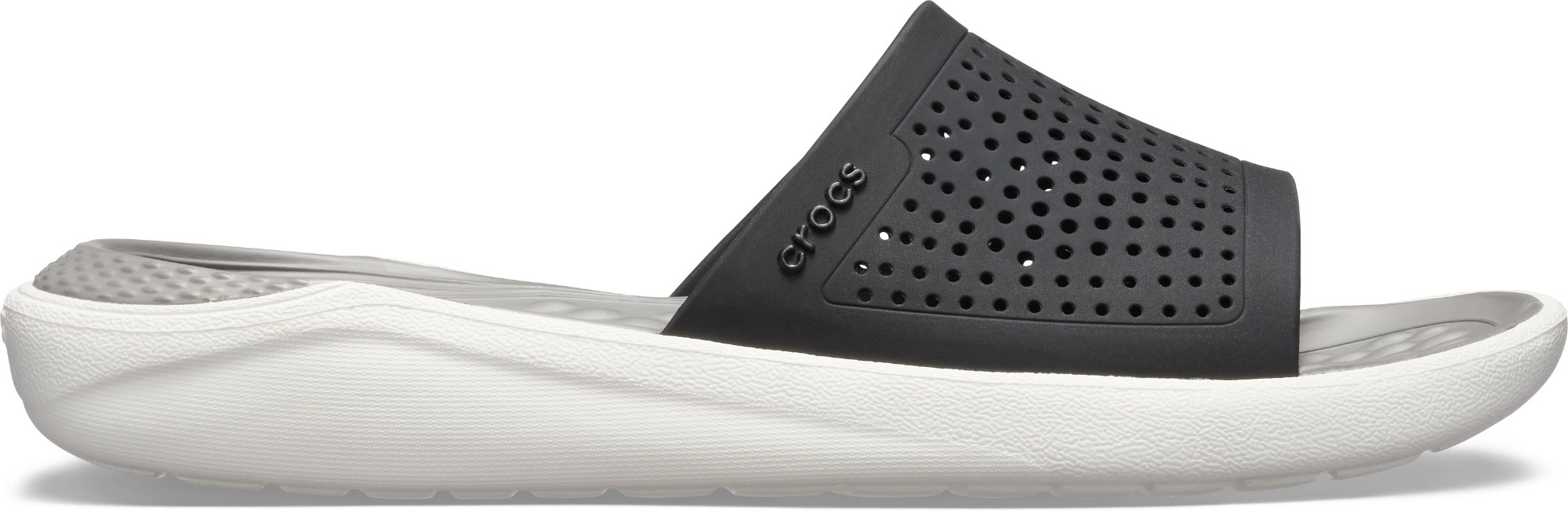Crocs™ LiteRide Slide Black/Smoke 36,5