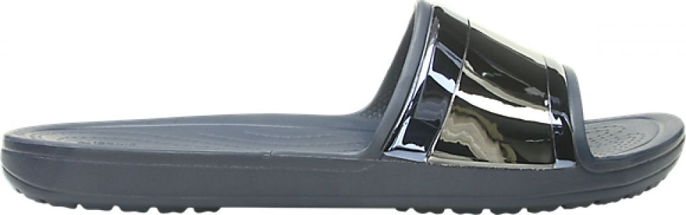 Crocs™ Sloane Metal Block Slide Women's Multi Navy/Navy 36,5