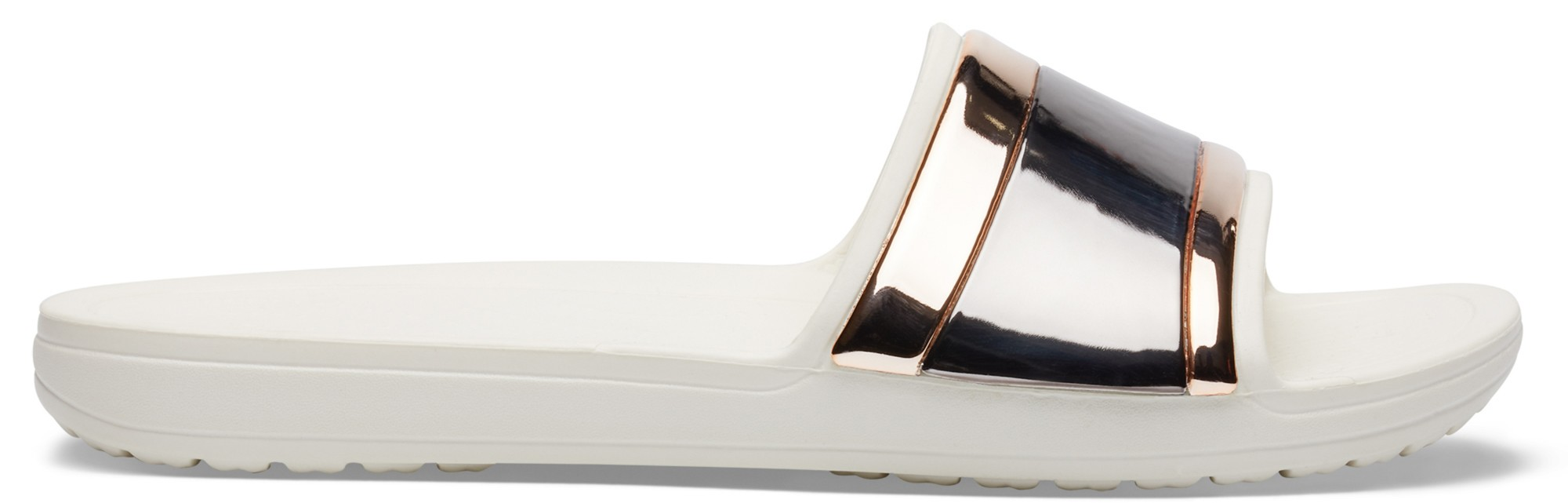 Crocs™ Sloane Metal Block Slide Women's Multi Rose Gold/Oyster 42,5