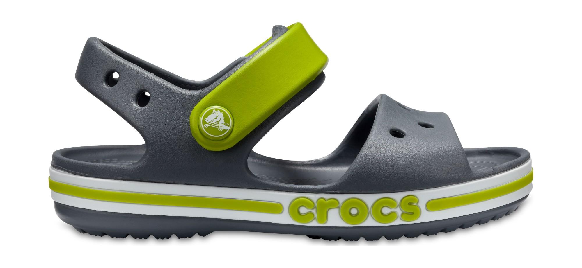 Crocs™ Bayaband Sandal Kid's Charcoal 29