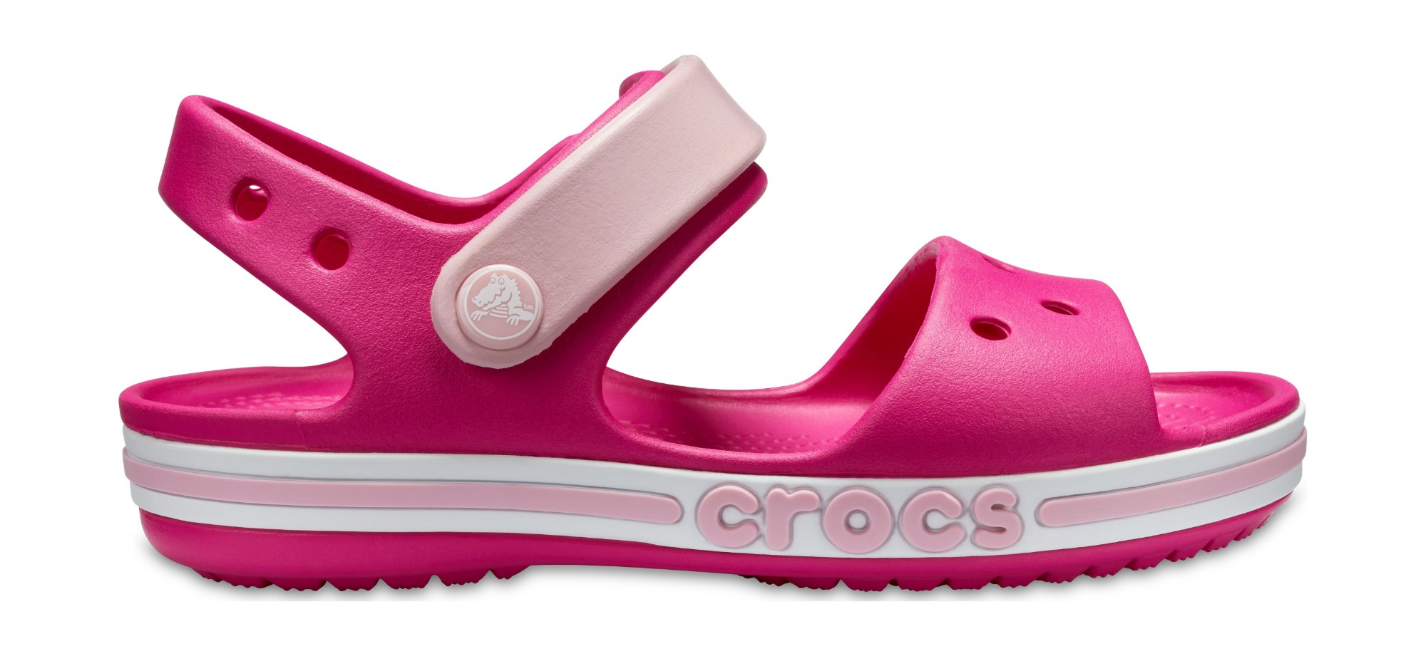Crocs™ Bayaband Sandal Kid's Candy Pink 27