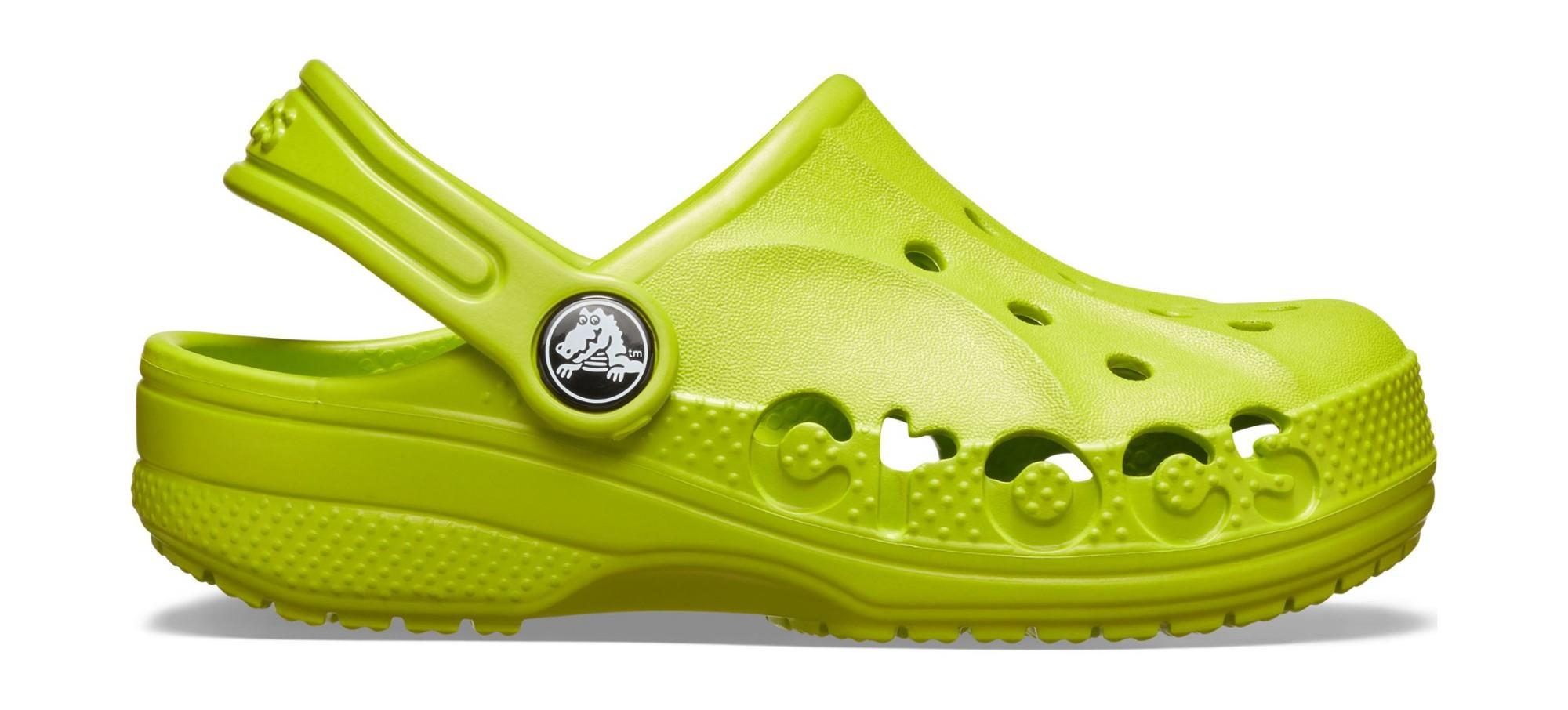 Crocs™ Baya Clog Kid's Volt Green 32