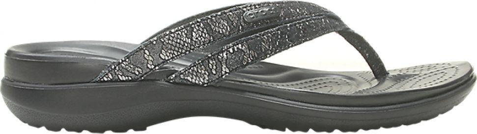 Crocs™ Capri Strappy Flip Women's Black/Black 38,5