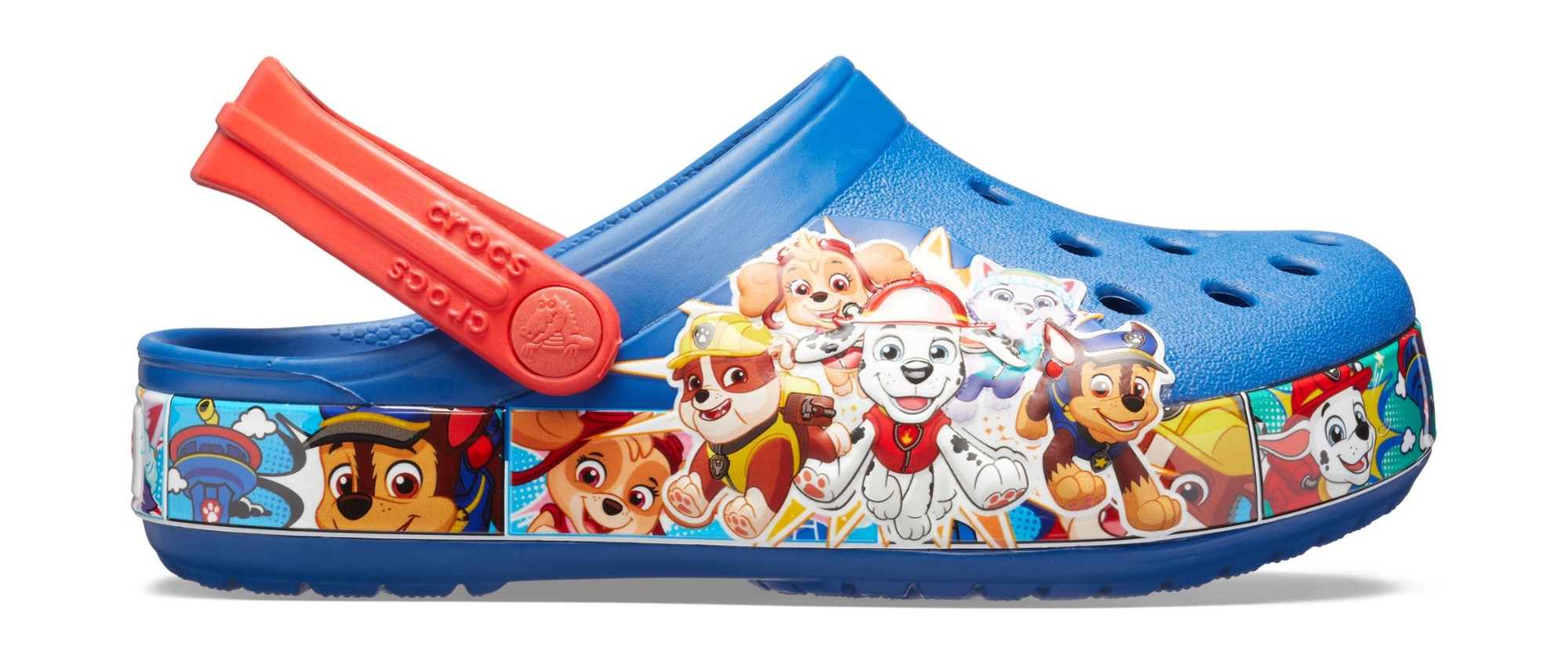 Crocs™ Funlab Paw Patrol Band Clog Kid's Blue Jean 27