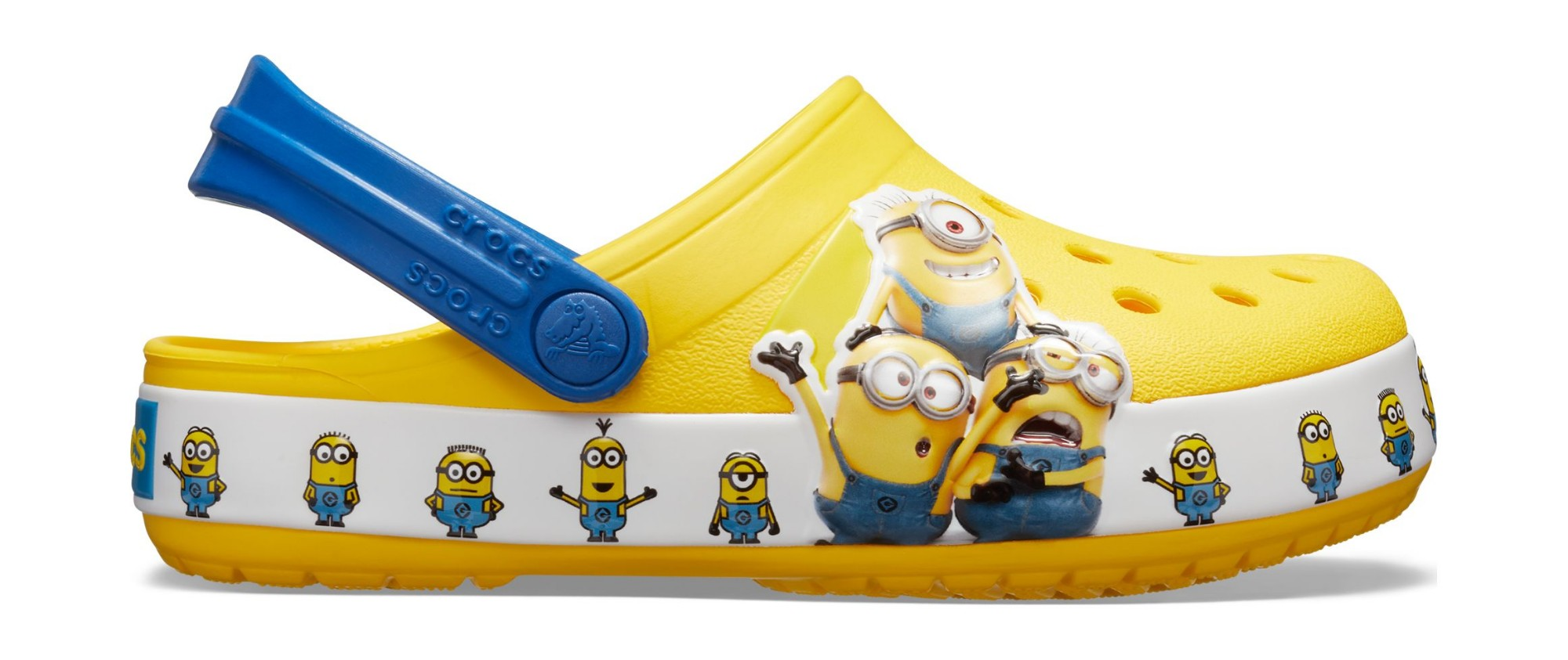 Crocs™ Funlab Minions Multi Clog Kid's Yellow 23