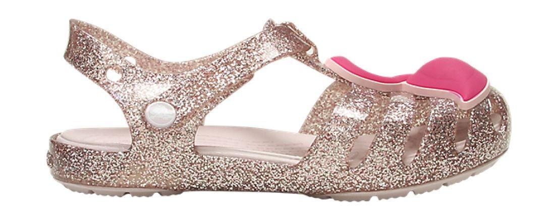 Crocs™ Isabella Charm Sandal Kid's Blush 27