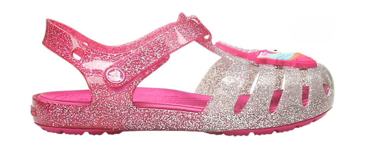 Crocs™ Isabella Charm Sandal Kid's Pink Ombre 27