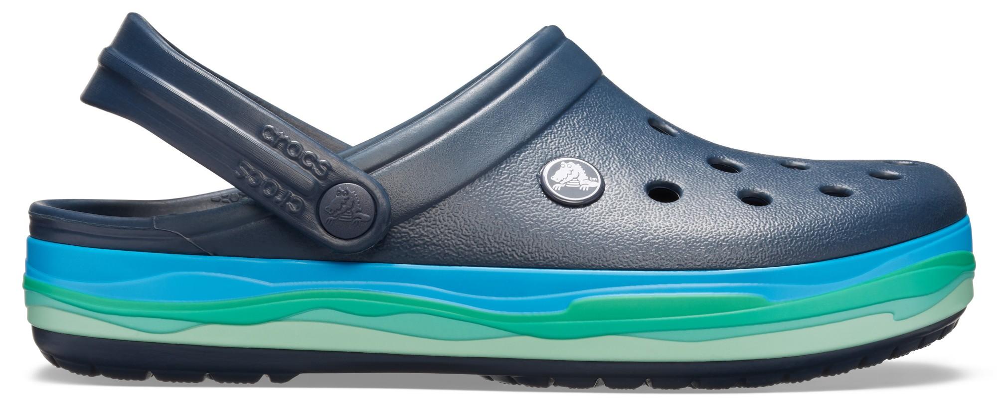 Crocs™ Crocband Wavy Band Clog Navy/Multi 38,5