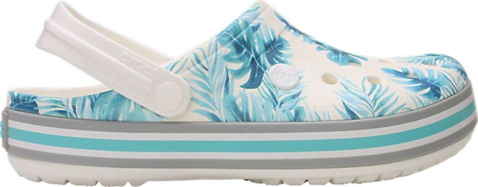 Crocs™ Crocband Seasonal Graphic Clog White/Tropical 45,5