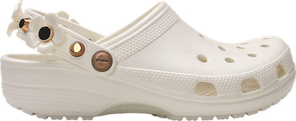 Crocs™ Classic Metallic Blooms Clog Oyster 42,5