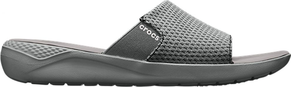 Crocs™ LiteRide Mesh Slide Men's Smoke/Pearl White 45,5