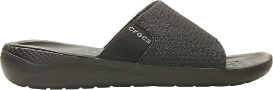 Crocs™ LiteRide Mesh Slide Men's Black/Slate Grey 44,5