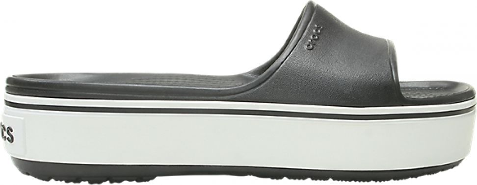 Crocs™ Crocband Platform Slide Black/White 36,5