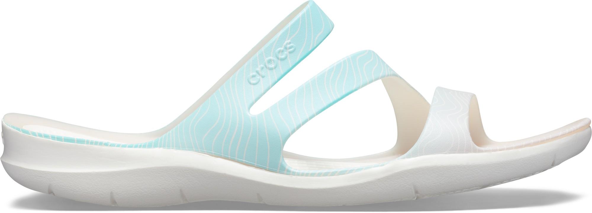 Crocs™ Swiftwater Seasonal Sandal Women's Pool Ombre/White 36,5